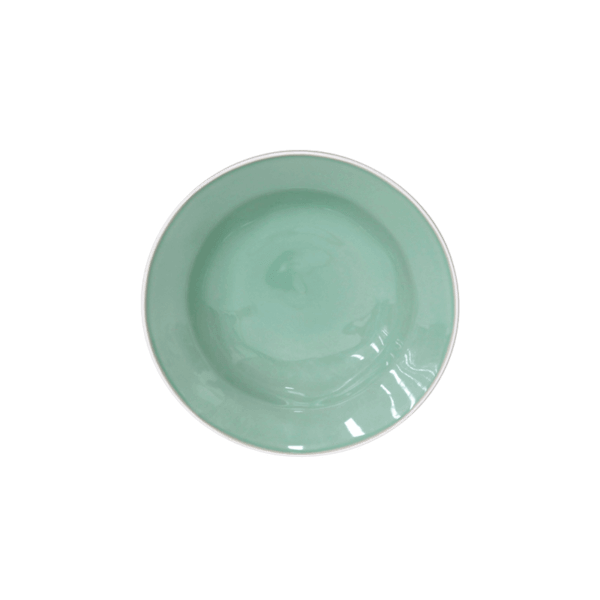Hotel Grand Amour Costa Nova Beja Green Soup Plates, Set of 6