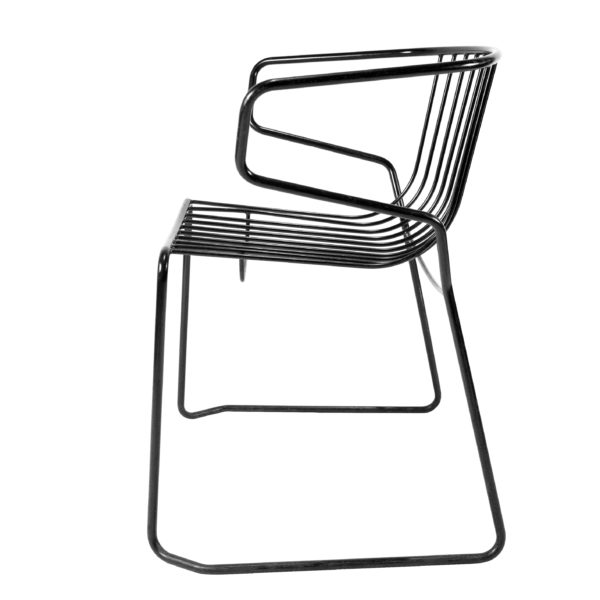 Hôtel Americano Dao lacquered metal Chair