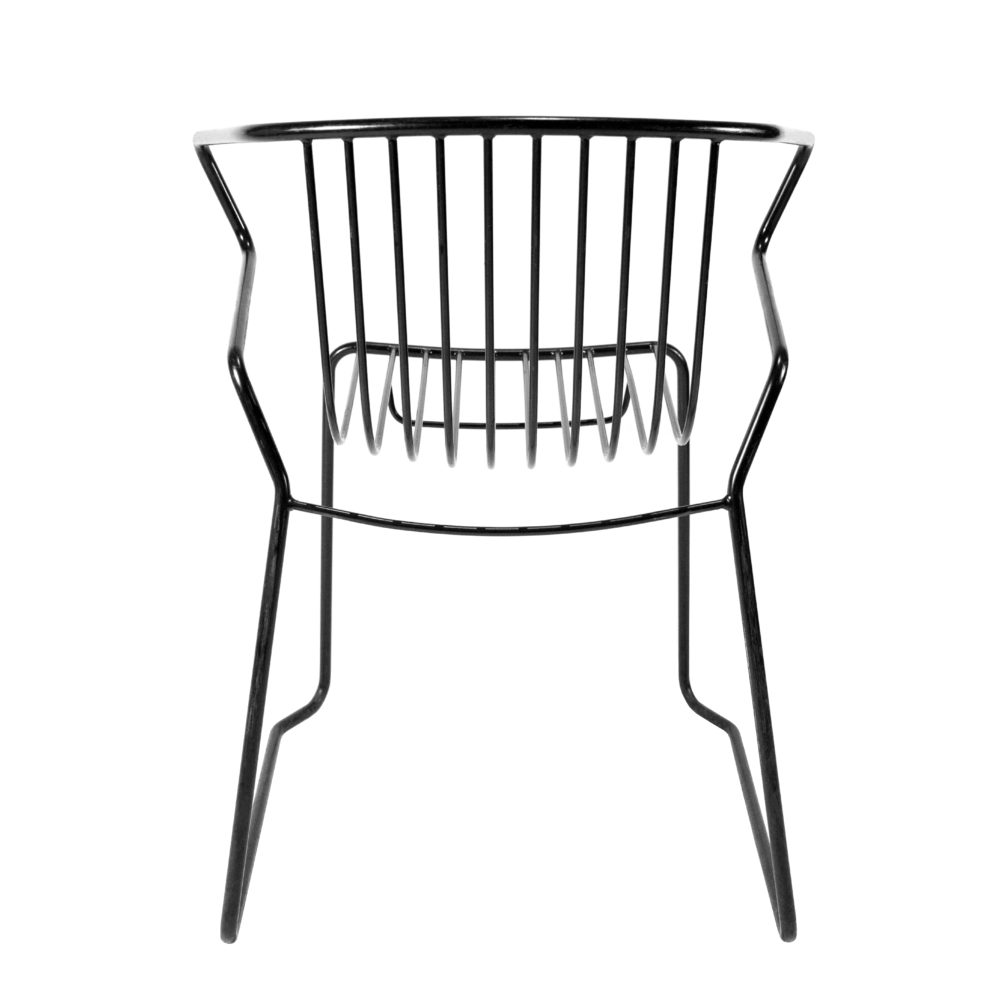 Dao lacquered metal Chair