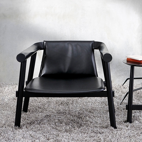 Altay Black Armchair