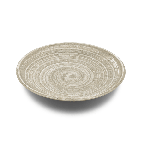 Oatmeal Glaze Japanese Side Plates, Set of 6