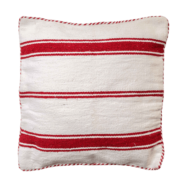 Cotton Striped Cushion