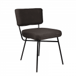 Black Elettra Dining Chair