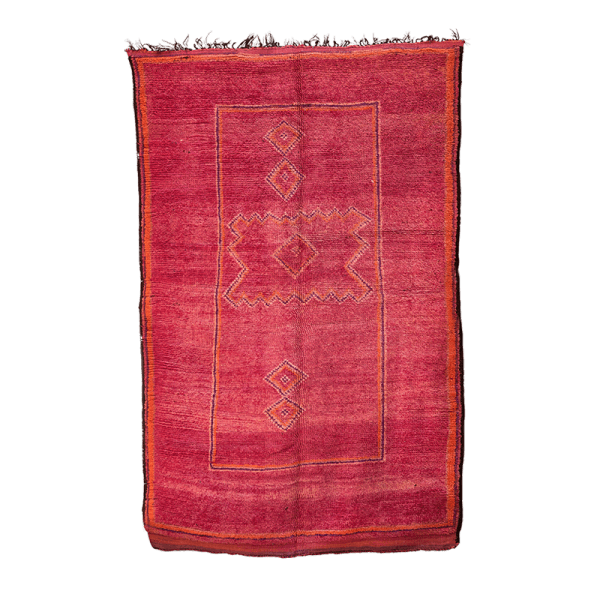 Large Red Boujaad Rug