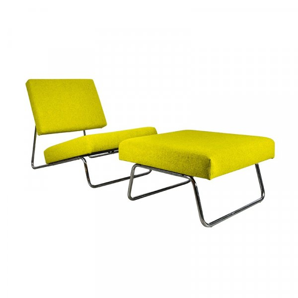Yellow Lounge Chair