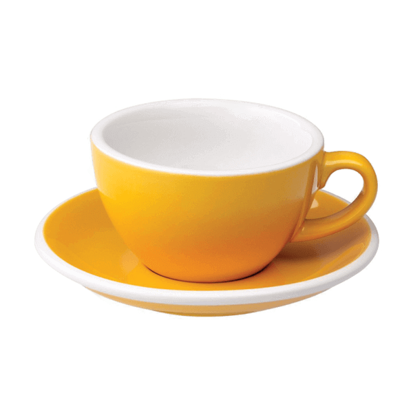 Hotel Grand Amour Cappuccino Cup and Saucer