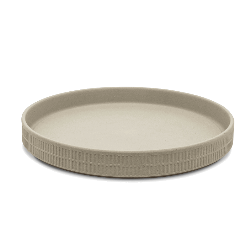 Raw Clay Dinner Plate