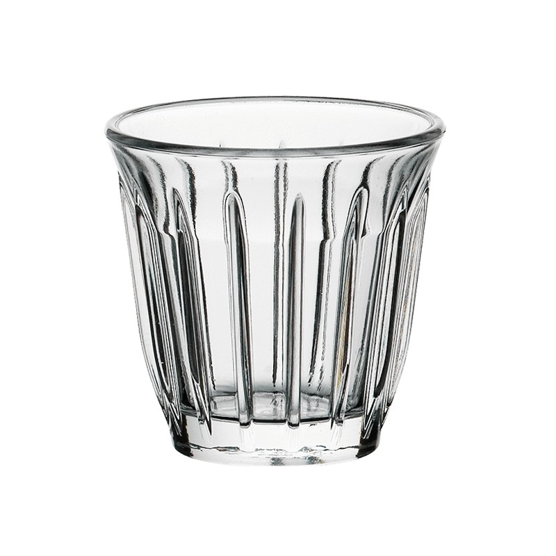 Zinc Industrial Pressed Glasses, Set of 6