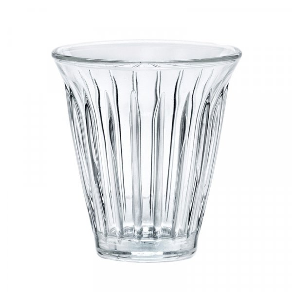 Hotel Grand Amour Zinc Industrial Pressed Glasses, Set of 6