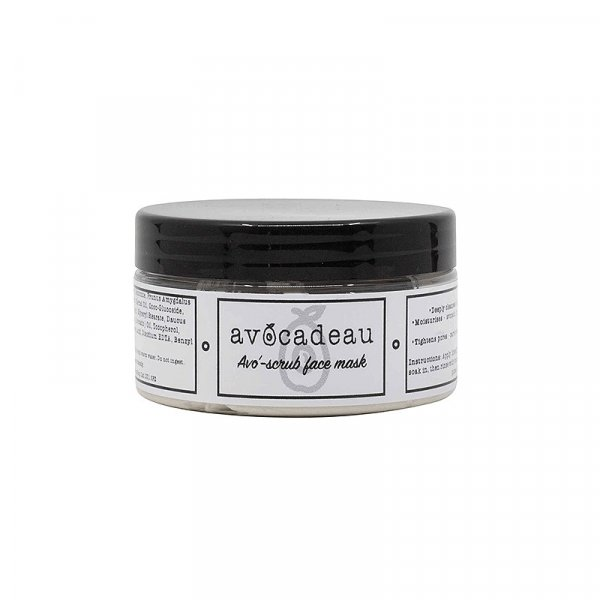Avocadeau Avo'-Scrub Face Mask