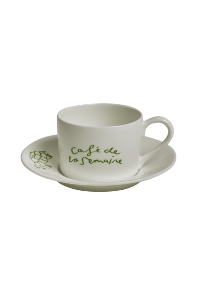 Café de la Semaine – Semaine x Luke Edward Hall Coffee Cup & Saucer