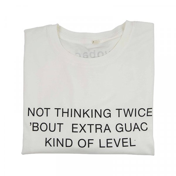 Guac Organic Cotton T-shirt in White