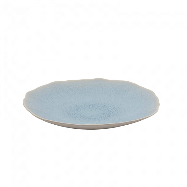 Jars Handmade Ceramic Dinner Plate in Blue