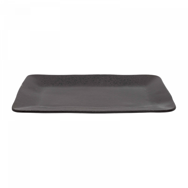Lang Grey Stone-effect Rectangle Plate