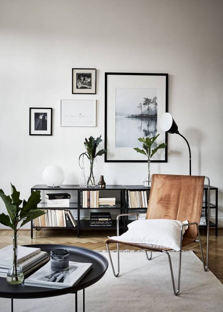 How to get the Scandinavian modern style with vintage furniture?