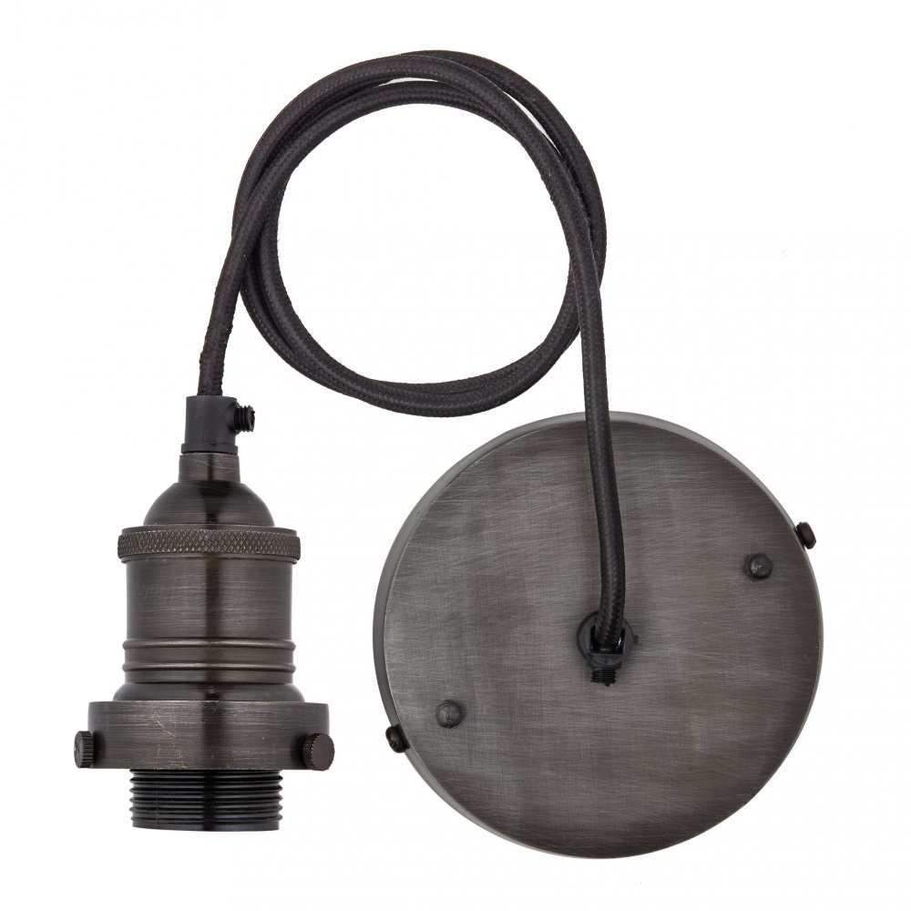 Brooklyn Pewter 13 Inch Dome Pendant