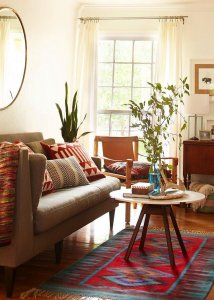 How to create a Boho chic home style with furnishings?
