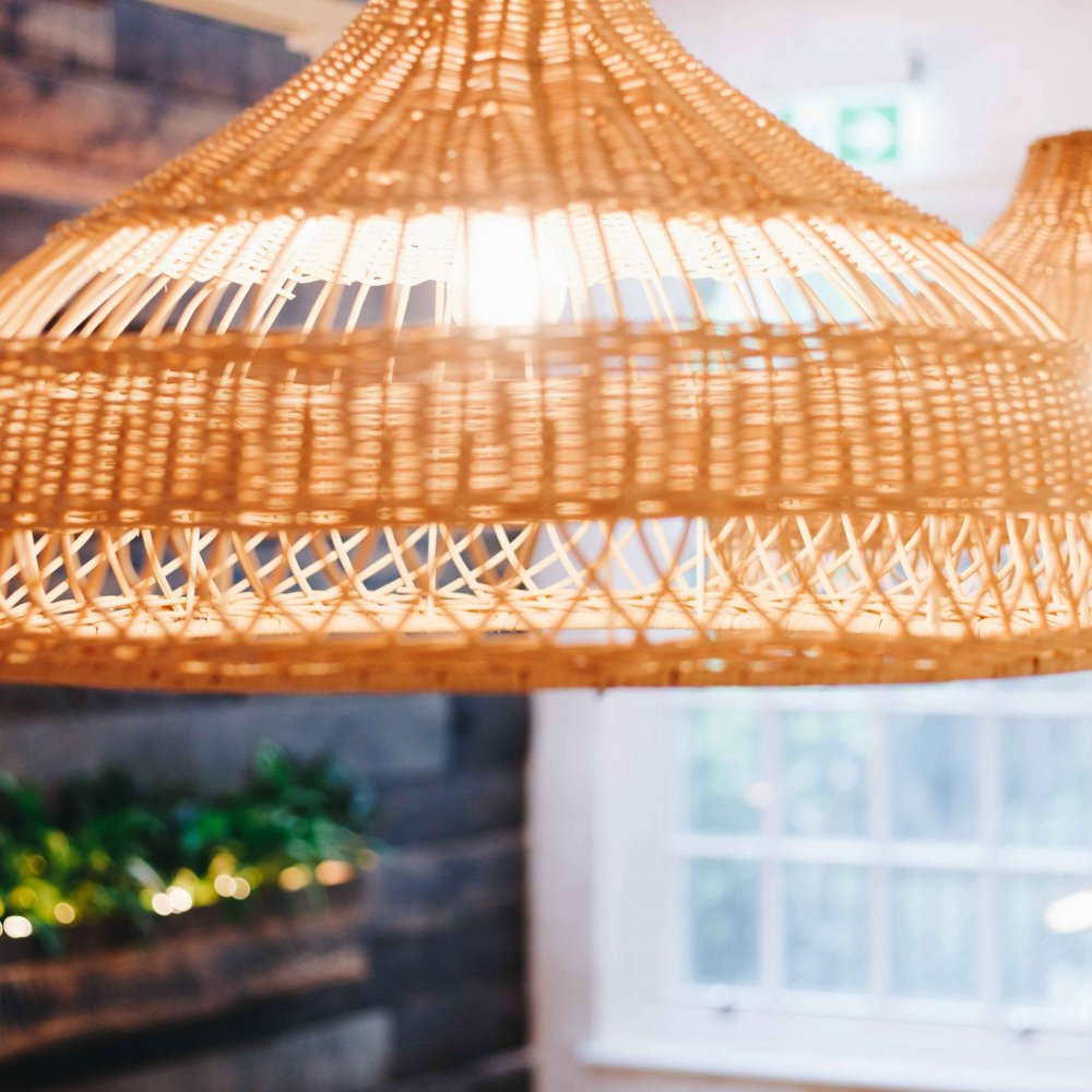 Rattan Woven Light Shade