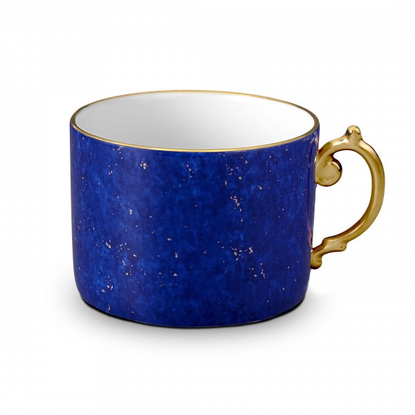 St. James Lapis and Gold Tea Cup