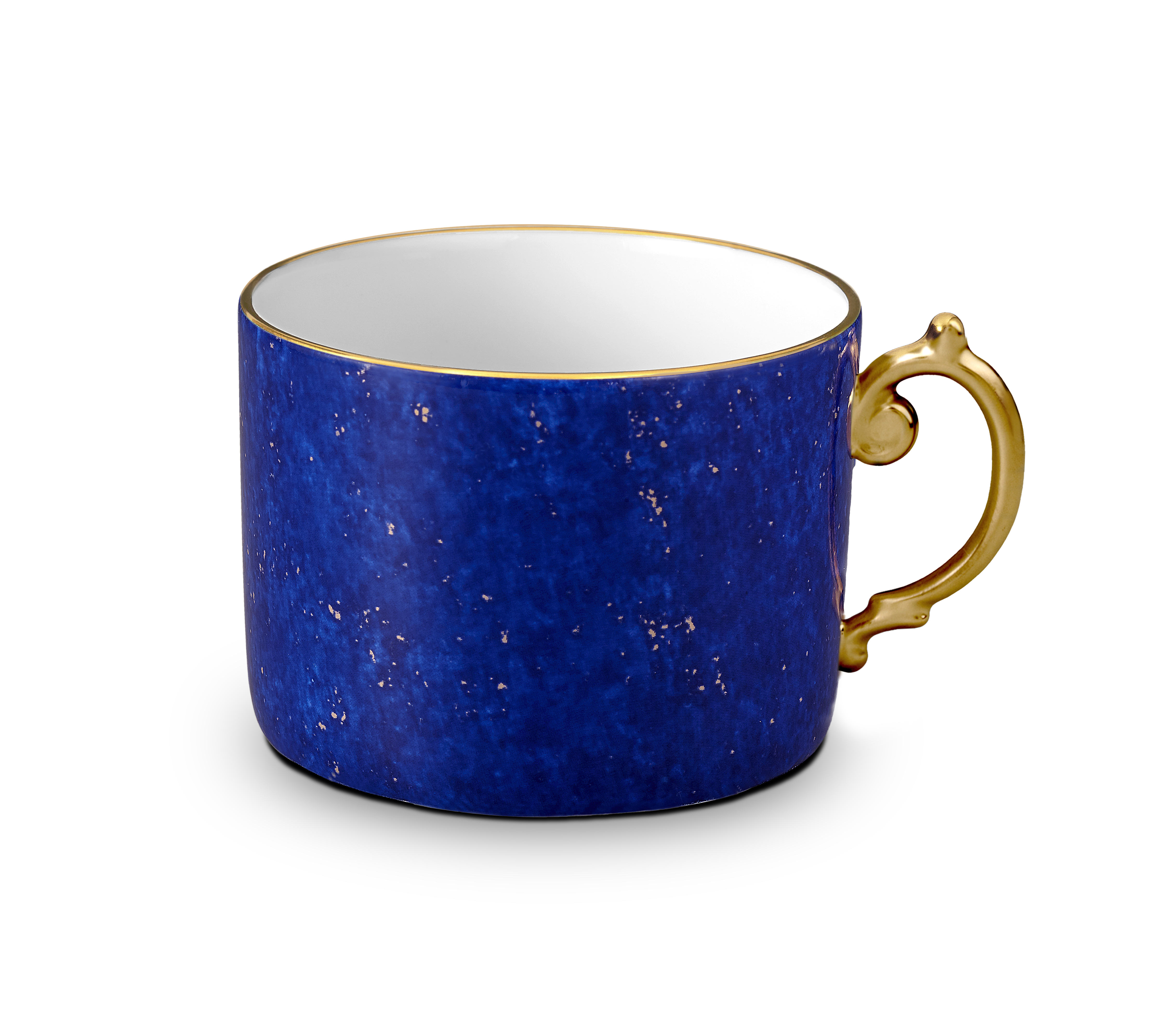 Lapis and Gold Tea Cup