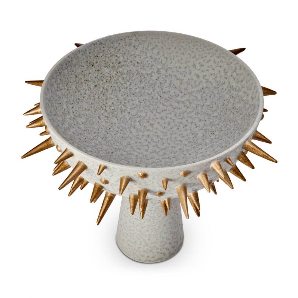 Celestial Large Bowl on Stand