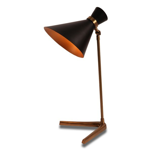 Peggy Black Table Lamp