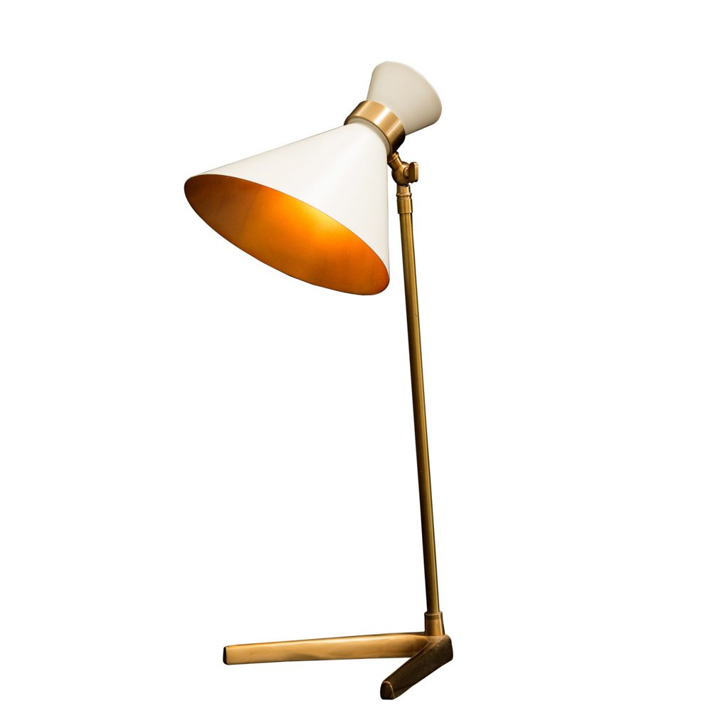 Peggy Grey Table Lamp
