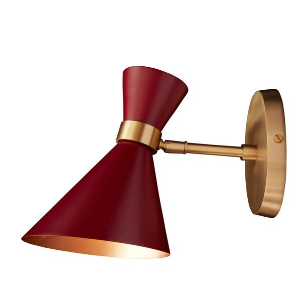 Peggy Red Wall Small Lamp