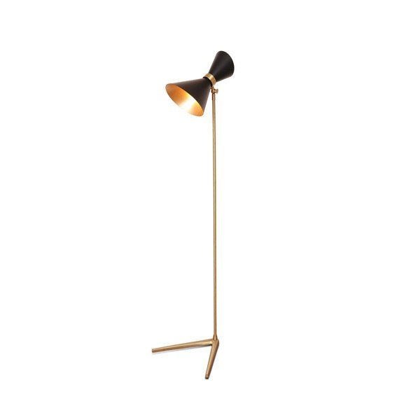 Peggy Black Up & Down Floor Lamp