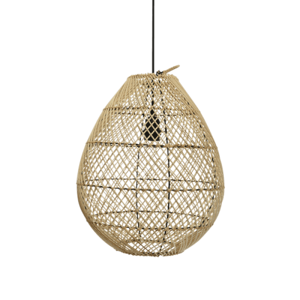 Rattan Teardrop Pendant Light Shade