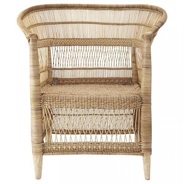 Natural Bamboo and Rattan Chair