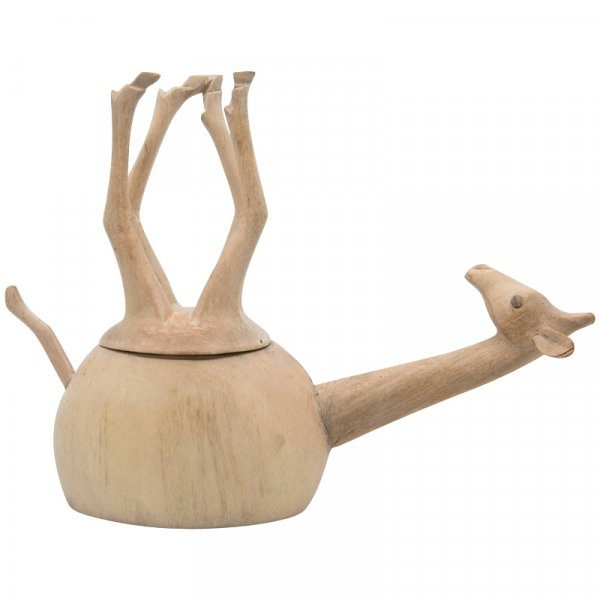 Natural Sleeping Giraffe Salt and Pepper Pot