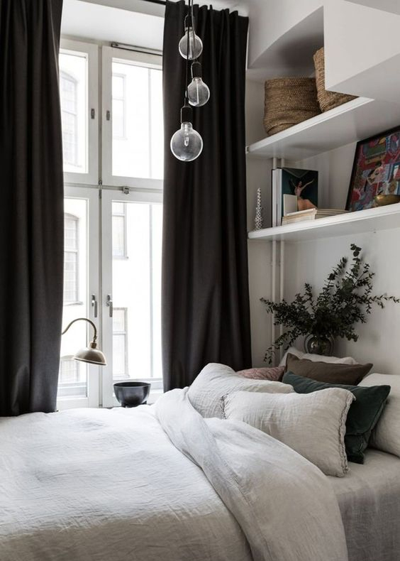How to design the perfect bedroom in a small space?