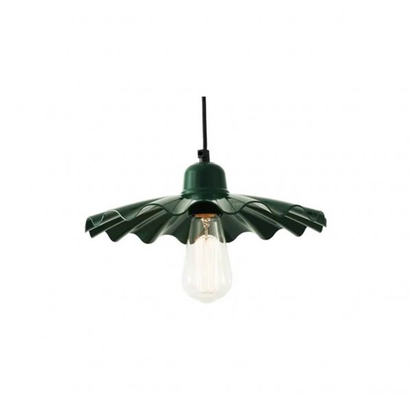 Ardle Modern Factory Pendant Light Green