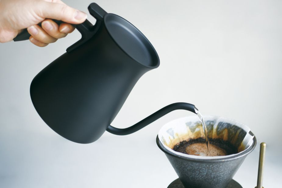 Kinto Black Pour Over Kettle 900ml