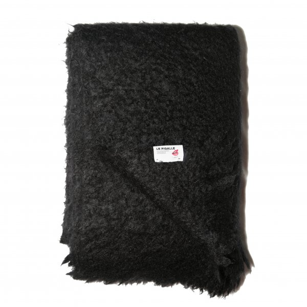 Black Wool Throw, Le Pigalle