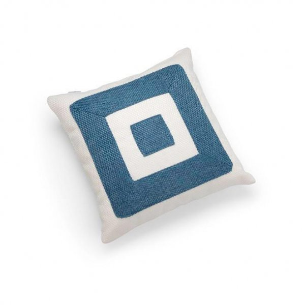 Linen Blue Infinity Cushion
