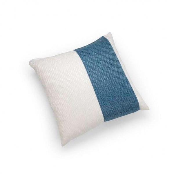 Linen Blue Single Pillar Cushion