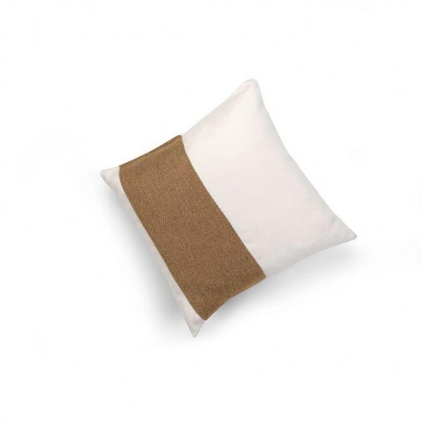 Linen Camel Single Pillar Cushion