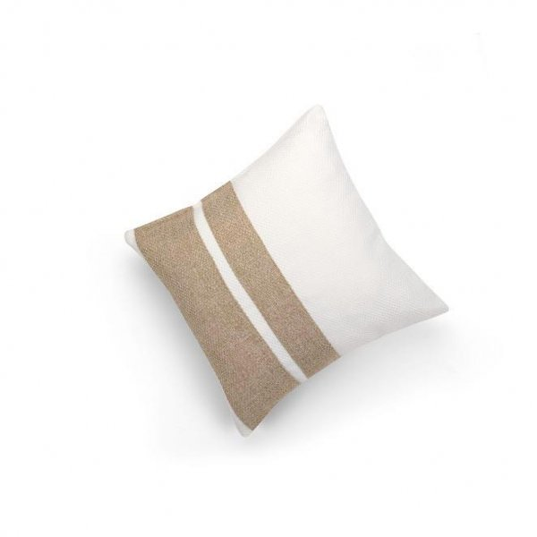 Linen Sand Double Pillar Cushion