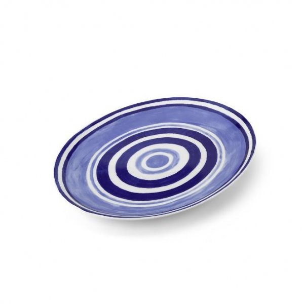 Maze Blue Serving Platter