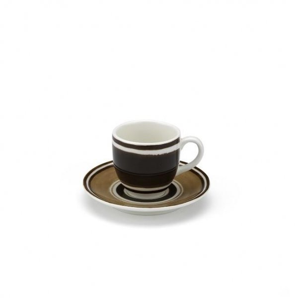 Maze Chocolate Brown Espresso Cup