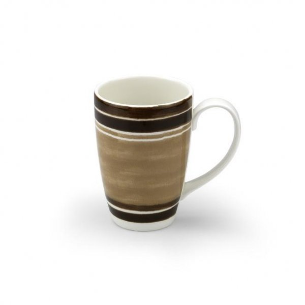 Maze Chocolate Brown Mug