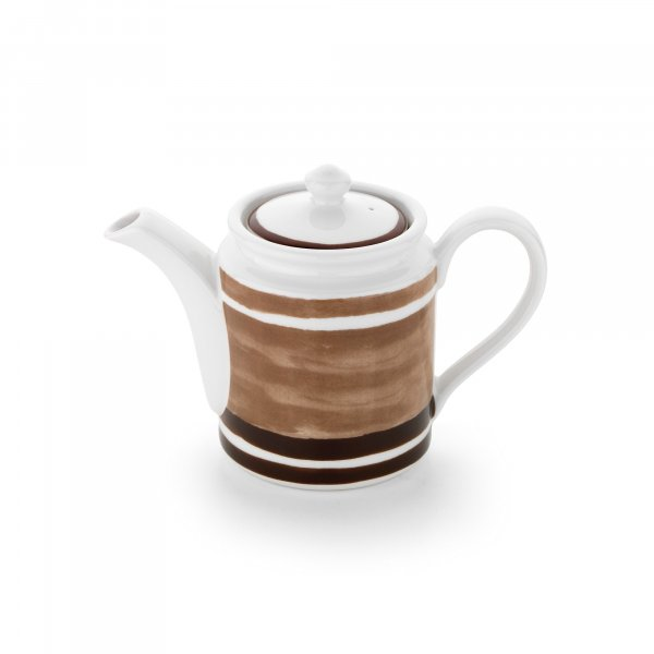 Maze Brown Coffee Pot