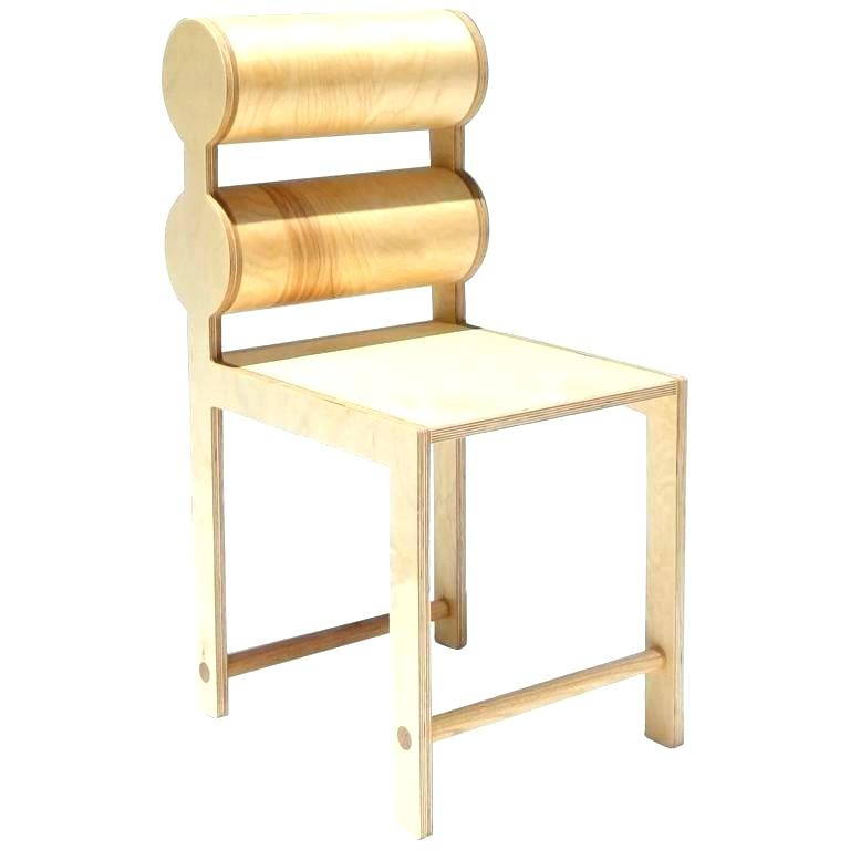 Oak Double Cylinder Chair