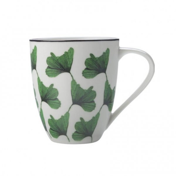 Sanctuary Green Mug 500ml, Set of 4