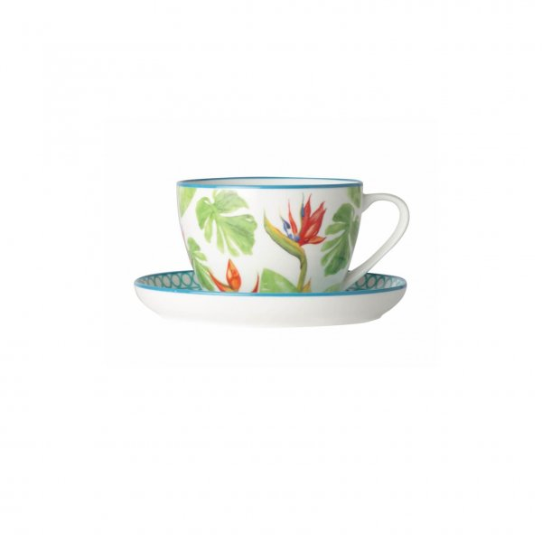 Tea Paradise Tea With Saucer 260ml, Set of 4