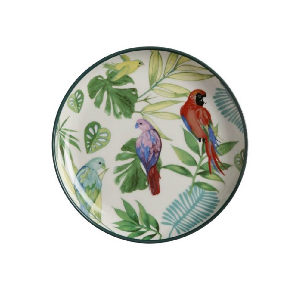 Tropical Nights Small Plate, Set of 4