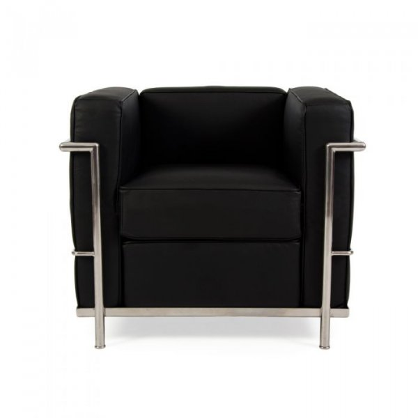 LC2 Petit Leather Armchair