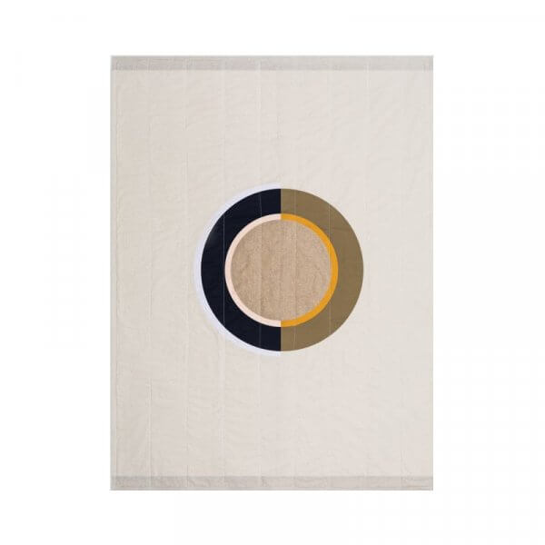 Louise Gray Linström Throw Quilt
